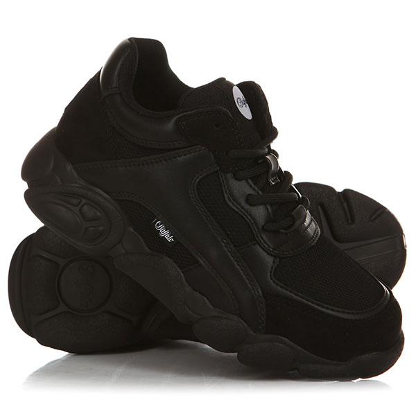 Кроссовки женские Buffalo shoes черные-17