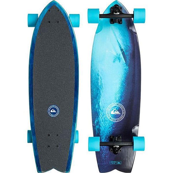 Скейт мини круизер  Hold Down Blue