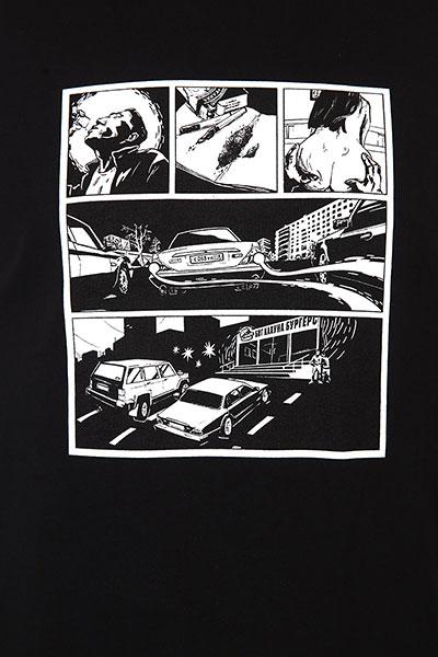 Лонгслив Юнион Comics Black