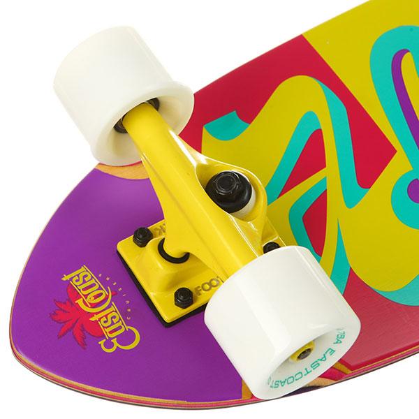 Скейт мини круизер Eastcoast Aloha Multi 8.25 x 27 (68.5 см) - 8566 -16