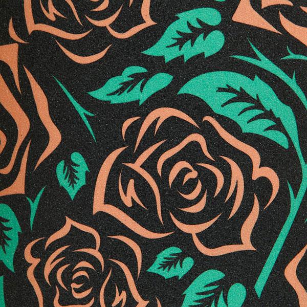 Шкурка для лонгборда Footwork Bloom Green - 8566 -44