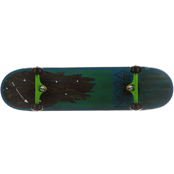 Скейтборд в сборе Nord Лес Multi 31.75 x 8 (20.3 см)