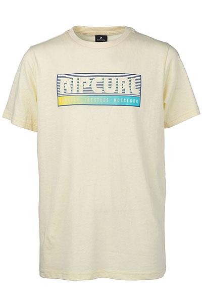 Футболка Rip Curl Slantbig Pale Yellow