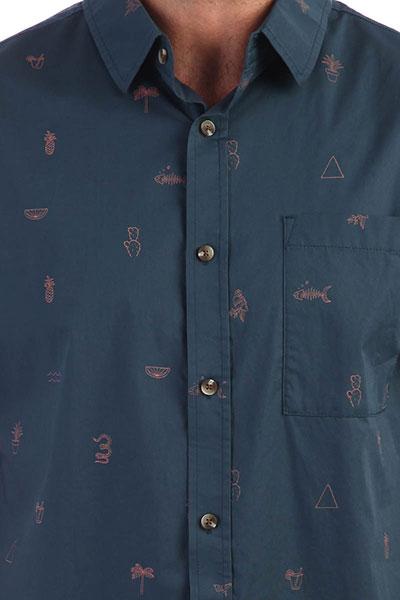 Рубашка Rip Curl Amigos Navy