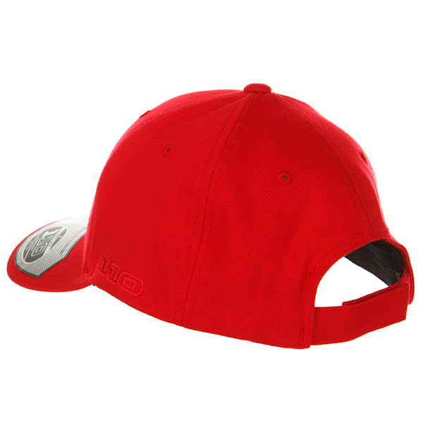 Бейсболка с прямым козырьком Yupoong 110c Red