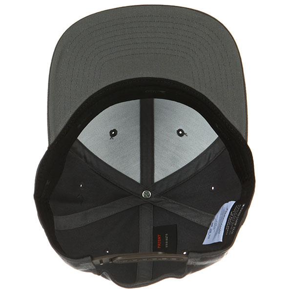 Бейсболка с прямым козырьком Yupoong 110f Dark Grey