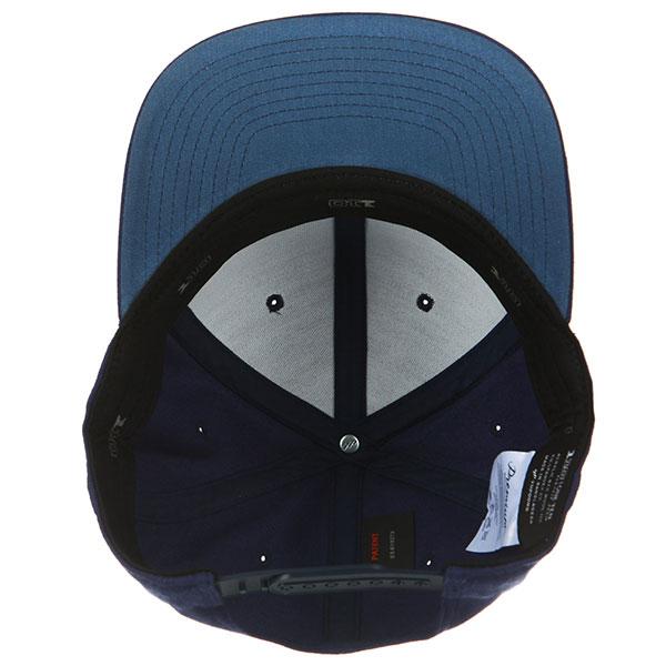 Бейсболка с прямым козырьком Yupoong 110f Navy