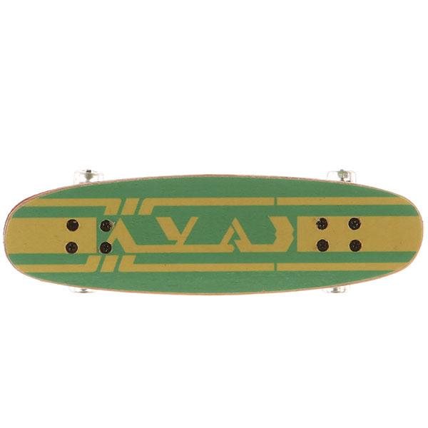 Фингерборд Turbo-FB Копии советских скейтбордов Green - 8585-18