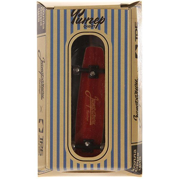 Фингерборд Turbo-FB Копии советских скейтбордов Red/Yellow/Clear - 8585-26