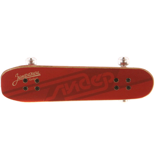 Фингерборд Turbo-FB Копии советских скейтбордов Red/White/Clear - 8585-28