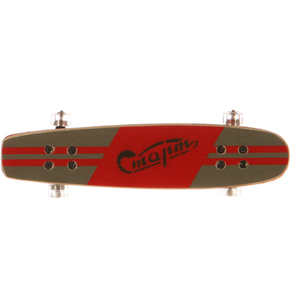 Фингерборд Turbo-FB Копии советских скейтбордов Red/Black/Clear - 8585-29