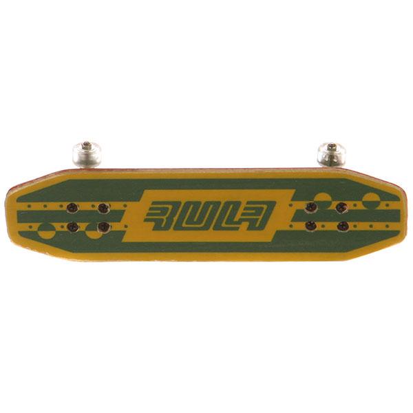 Фингерборд Turbo-FB Копии советских скейтбордов Green/Yellow/Clear - 8585-31