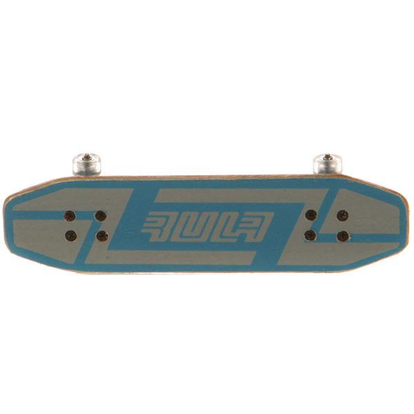 Фингерборд Turbo-FB Копии советских скейтбордов Light Blue/Gold/Clear - 8585-32