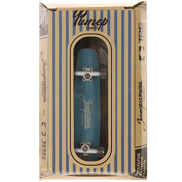 Фингерборд Turbo-FB Копии советских скейтбордов Light Blue/White/Clear - 8585-34