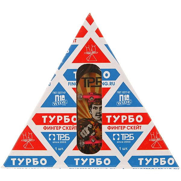 "Фингерборд Turbo-FB П10 ""Советский"" в упаковке ""Молоко"" Multi/Pink/Clear - 8585-70"