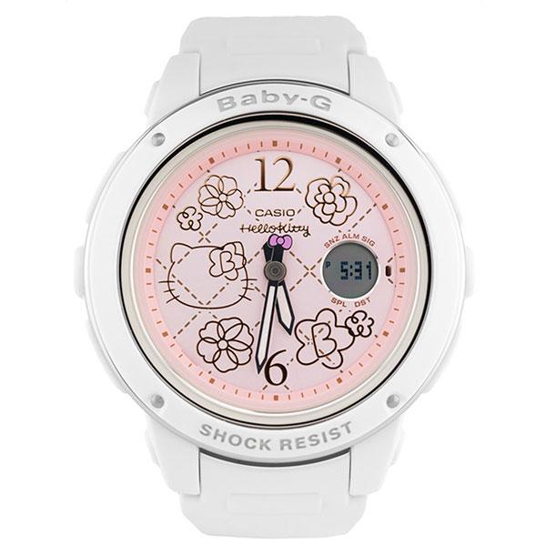 Электронные часы Casio Baby-g bga-150kt-7ber White