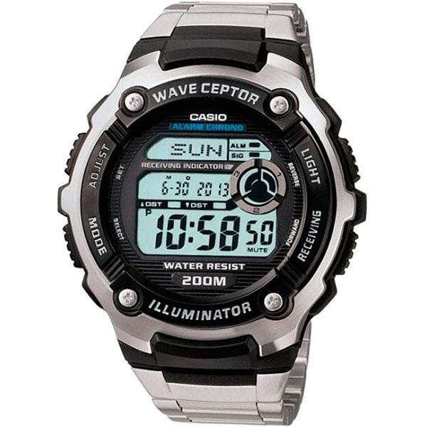 Электронные часы Casio Wave Ceptor wv-200de-1a Grey