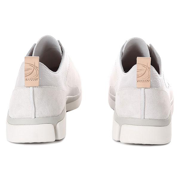Мужские кроссовки Clarks Triverve Slip Белые