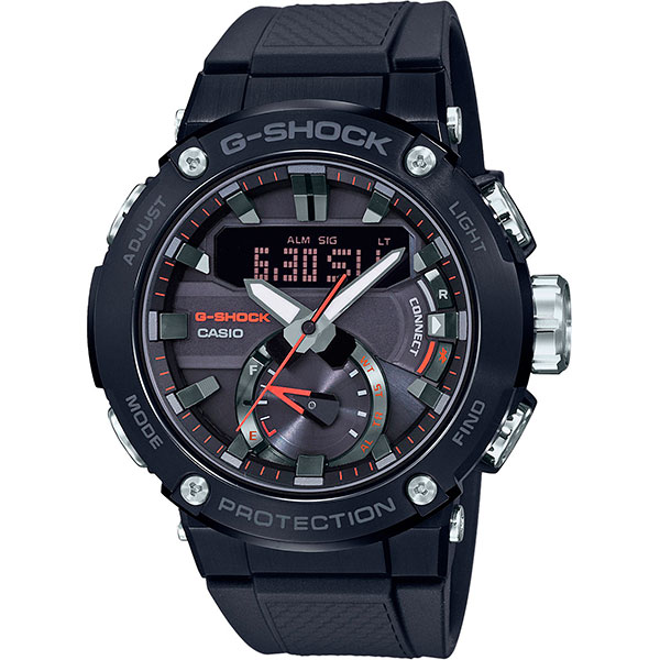 Кварцевые часы Casio G-Shock Gst-b200b-1aer Black
