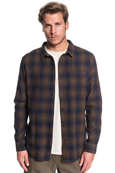 Рубашка QUIKSILVER с длинным рукавом Inca Gold Check