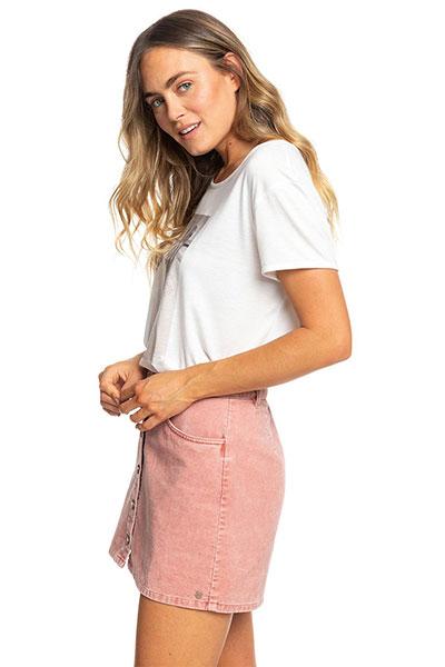 Вельветовая юбка ROXY на пуговицах Unforgettable Fall