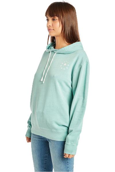 Толстовка классическая женская Billabong Salty Wash Hood Seagreen