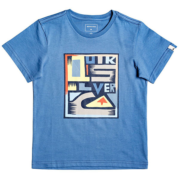 Детская QUIKSILVER футболка Jumbled Up