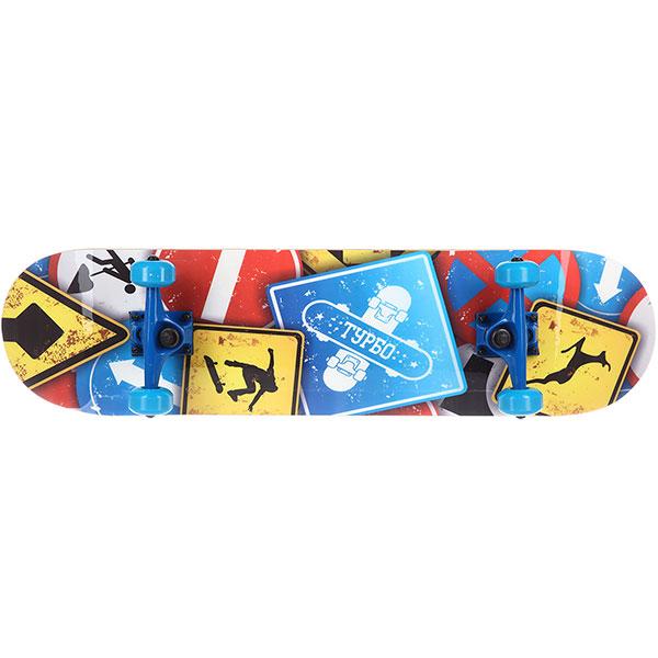 Скейтборд в сборе Turbo-FB Signs Multi 31.5 x 8 (20.3 см)