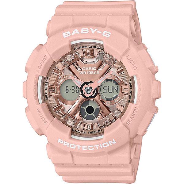 Кварцевые часы Casio G-Shock Baby-g Ba-130-4aer Pink