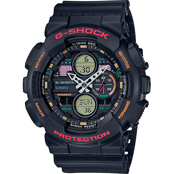 Кварцевые часы Casio G-Shock Ga-140-1a4er Black