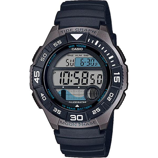 Электронные часы Casio Collection Ws-1100h-1avef Grey/Black