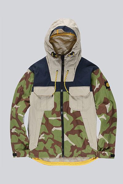Куртка Element Griffin Alder Camp Abstract Camo 1