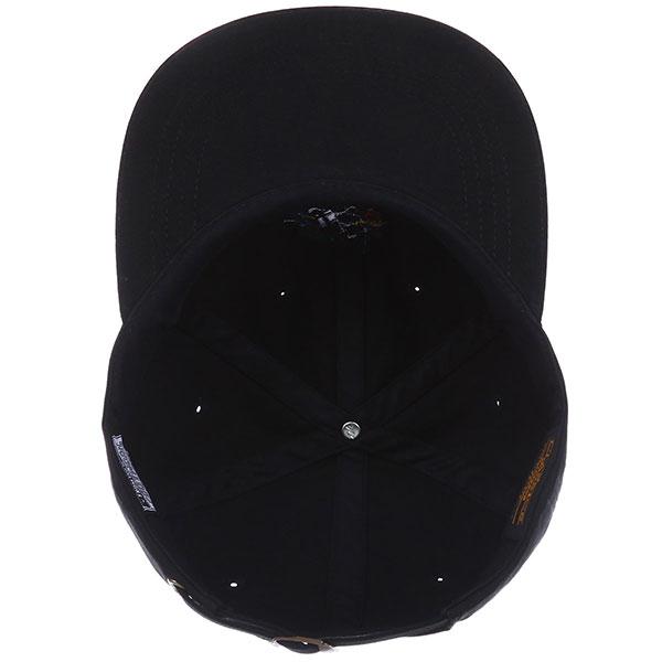Бейсболка с прямым козырьком Footwork Parrot Dad Cap Flat Brim-black