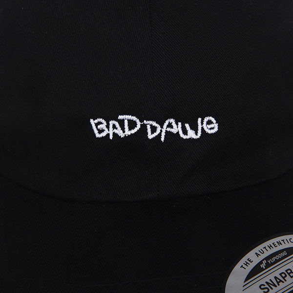 Бейсболка классическая Footwork Bad Dawg Black