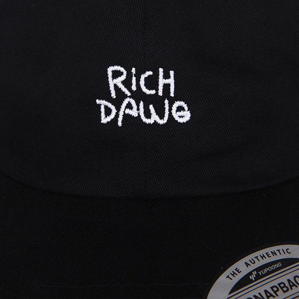 Бейсболка классическая Footwork Rich Dawg Black