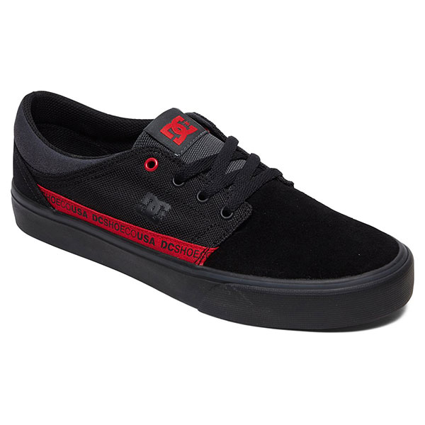 Кеды низкие DC Shoes Trase Tx Se Black/Red