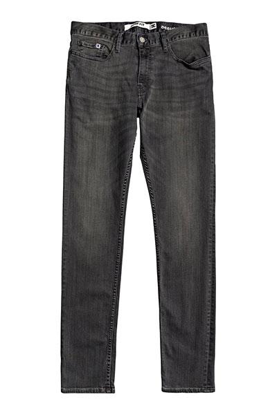 Узкие джинсы DC SHOES Worker Medium Grey