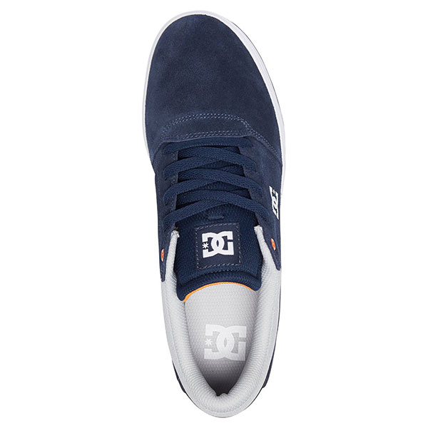 Кеды низкие DC Shoes Crisis Navy/Grey