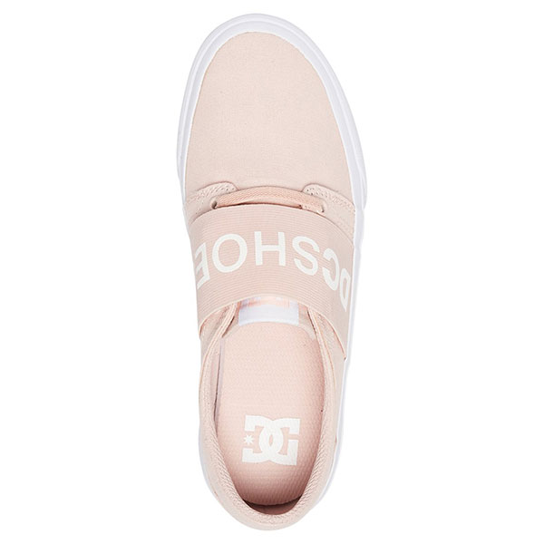 Кеды низкие женские DC Shoes Trase Tx Se White/Pink