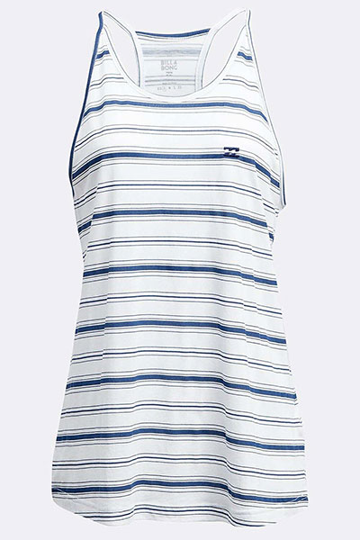 Майка женская Billabong Beach Day Tank Point Blue Stripes