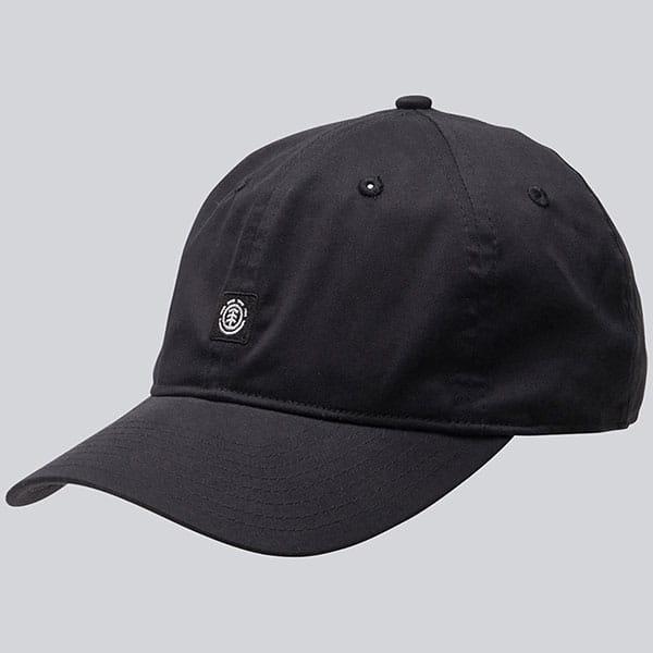 Бейсболка классическая Element Fluky Dad Cap All Black