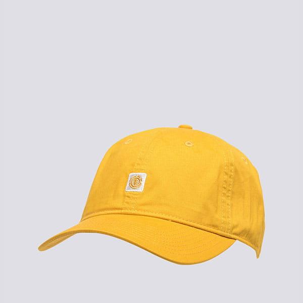 Бейсболка классическая Element Fluky Dad Cap Mineral Yellow