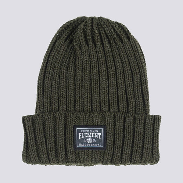 Шапка Element Counter Beanie Olive Drab
