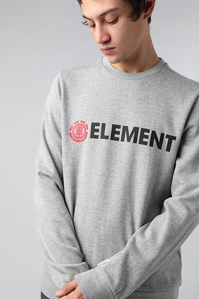 Толстовка классическая Element Blazin Crew Grey Heather