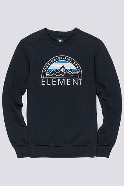 Толстовка классическая Element Odyssey Cr Flint Black