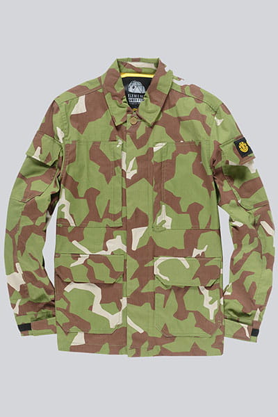 Куртка Element Griffin Field Shirt Abstract Camo