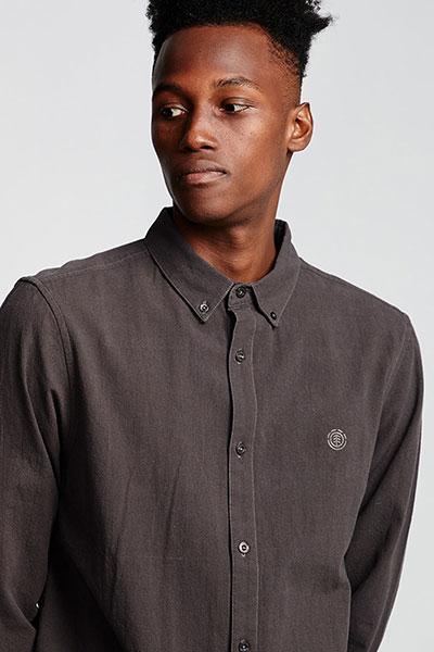 Рубашка Element Icon Crisp Ls Off Black