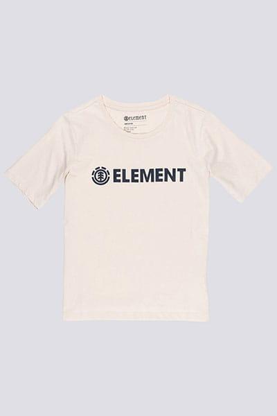 Футболка Element Logo White Smoke