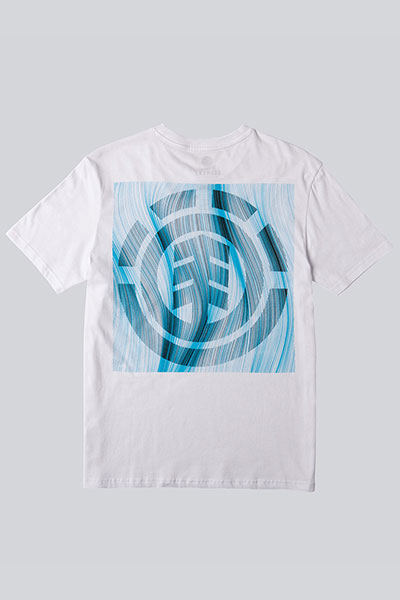 Футболка Element Twists & Turns Logo Optic White