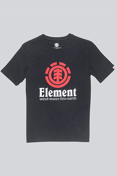 Футболка Element Vertical Boy Flint Black
